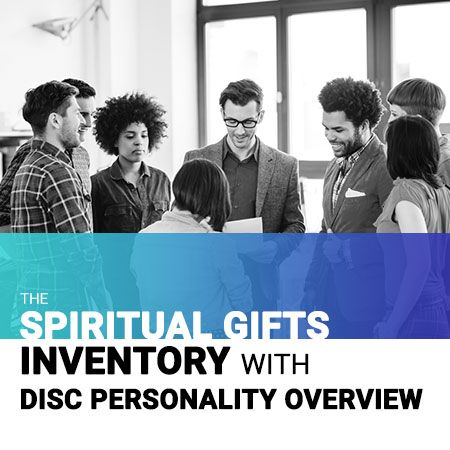Spiritual Gifts Inventory with DISC Personality Overview